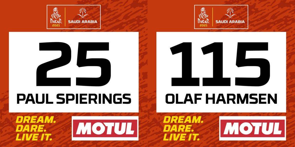 Dakar 2021: De eerste startnummers zijn bekend