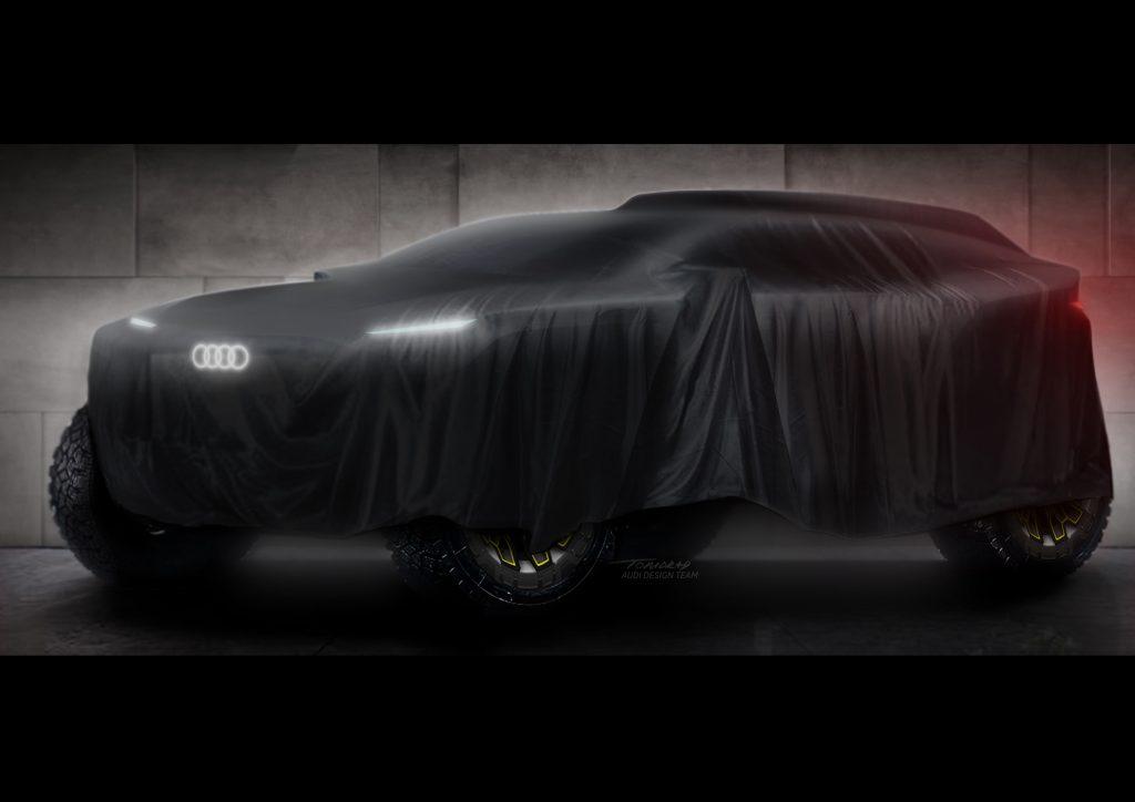 Audi gaat deelnemen aan Dakar 2022