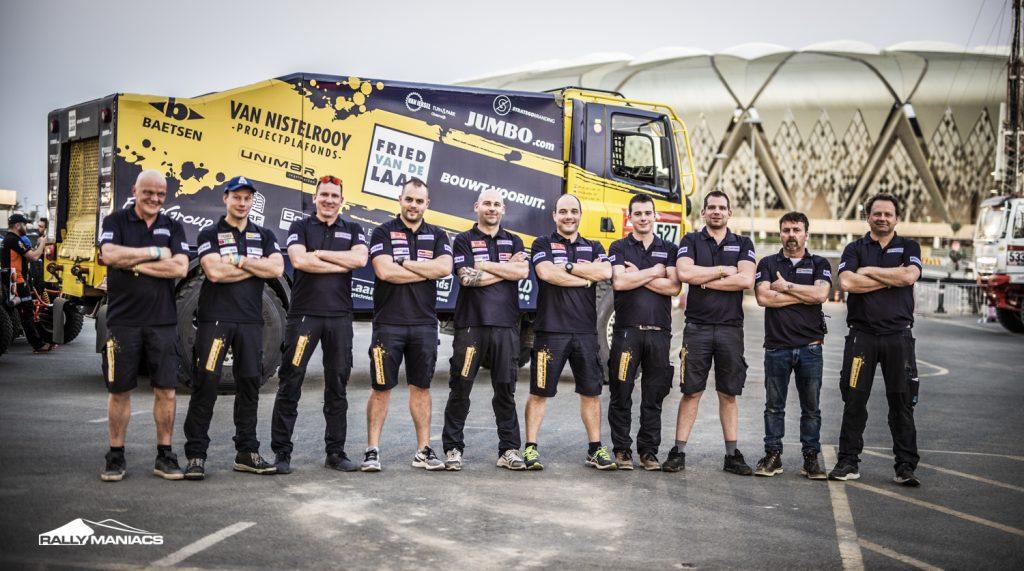 Fried van de Laar Racing team ziet af van deelname Dakar 2021