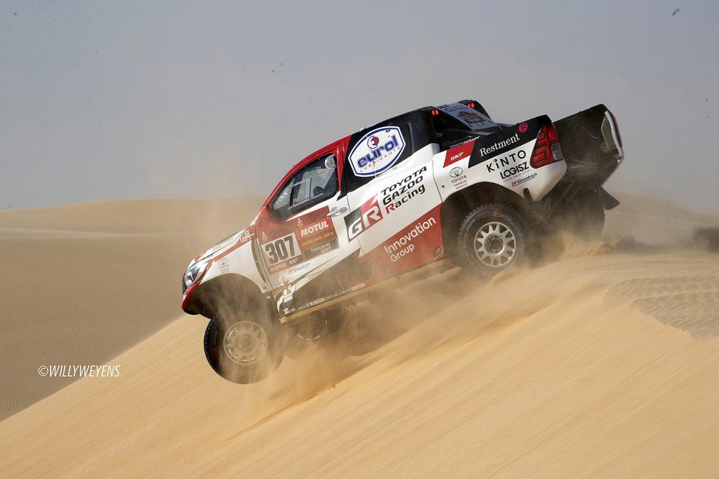 Unieke kans omde Dakar 2021 live mee te maken in Saoedi-Arabië