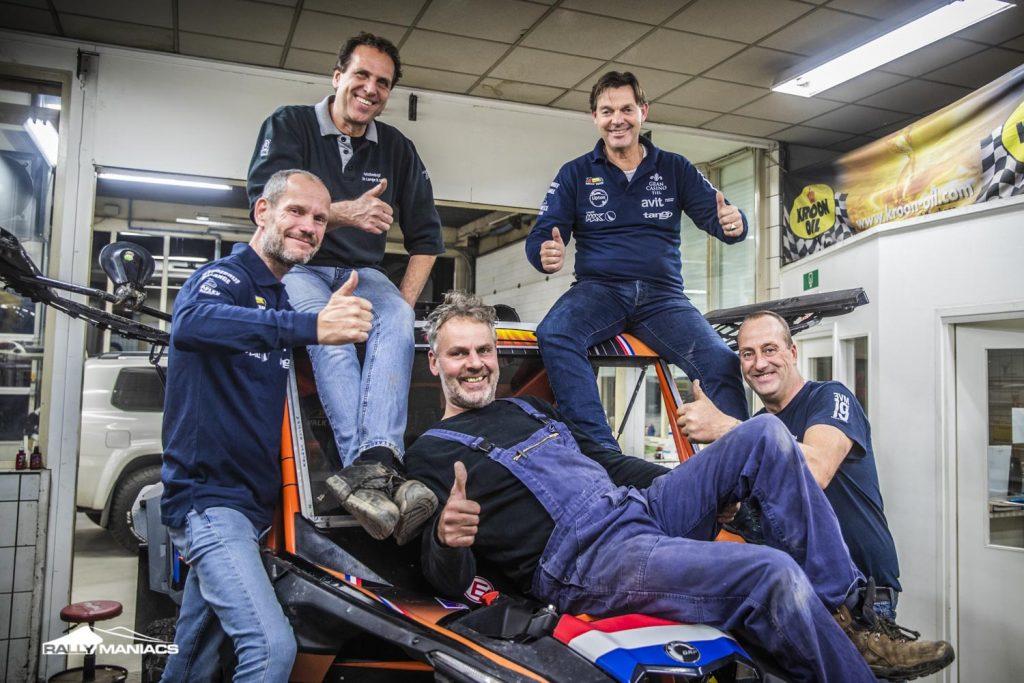 Dakar 2021: Valk Events Rally Team debuteert
