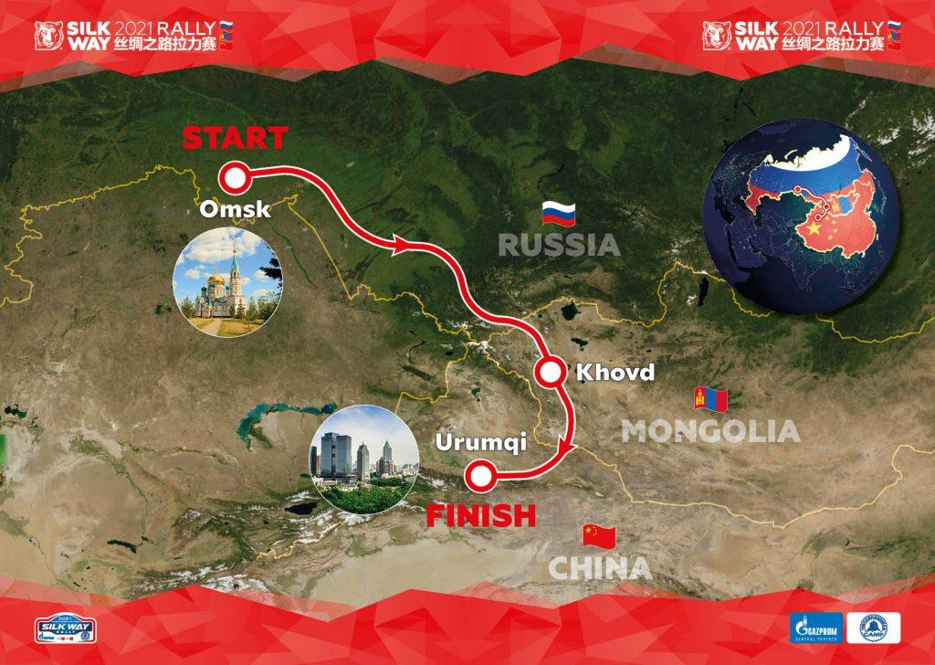 Silk Way Rally 2021: 1-11 juli 2021