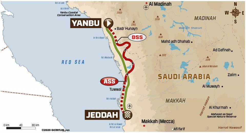 Spoorboekje Dakar 2021: De laatste etappe naar Jeddah
