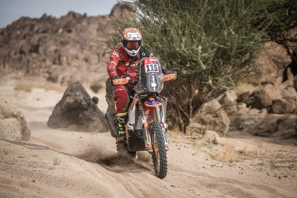 Olaf Harmsen krijgt niets cadeau in Dakar 2021