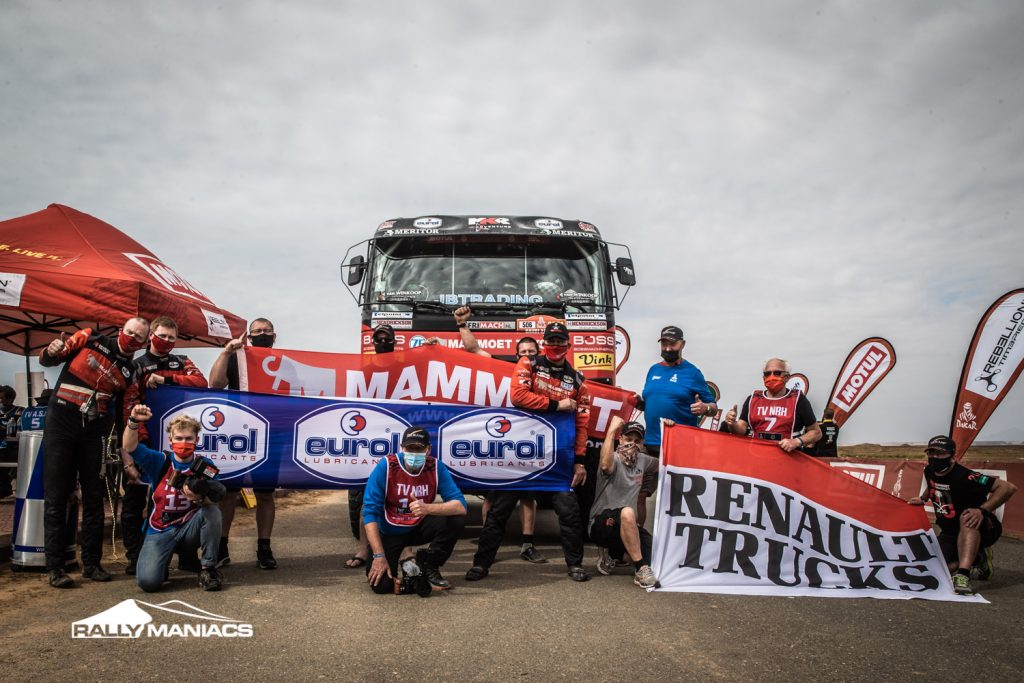 Martin en Mitchel van den Brink enorm blij met resultaat in Dakar Rally