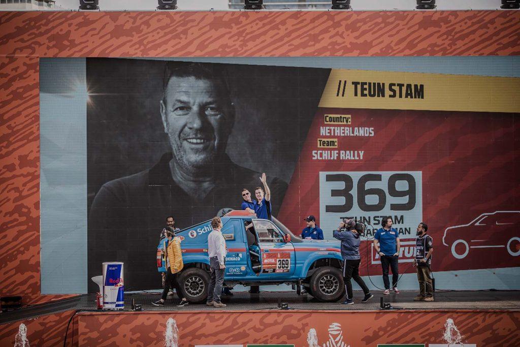 Schijf Rally naar Tunesië voor de Fenix Rally