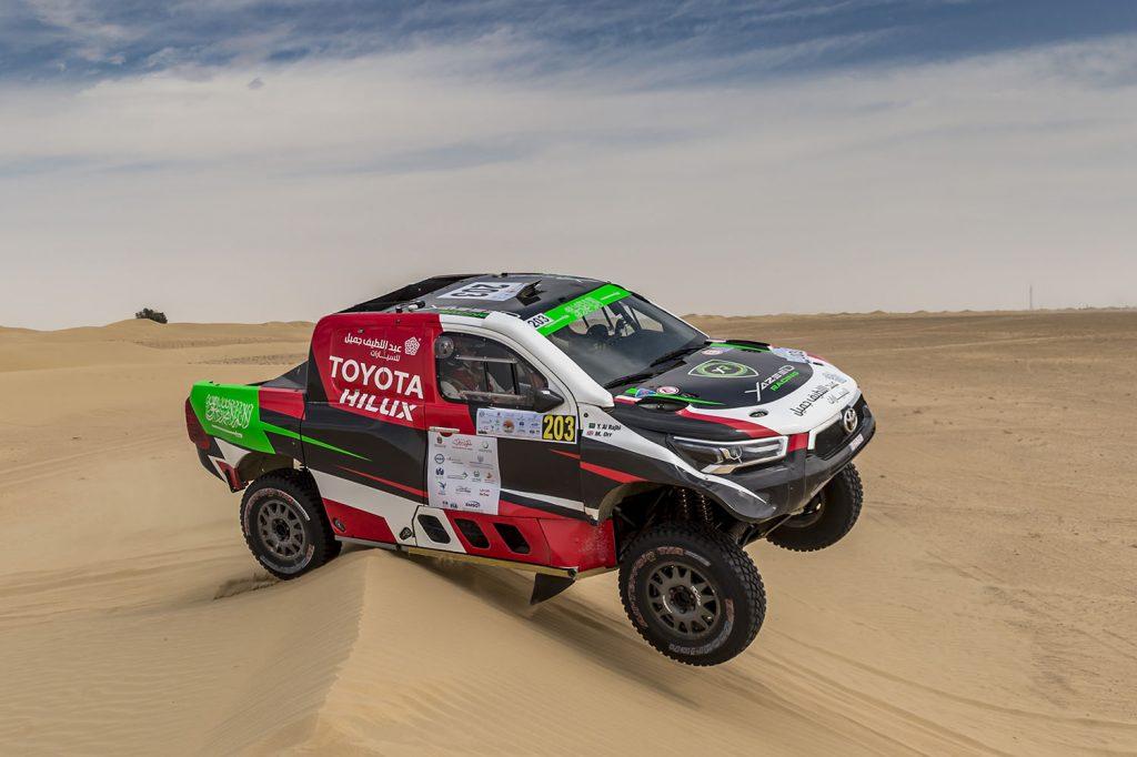 Dubai International Baja: winst voor Al Rahji en Smith