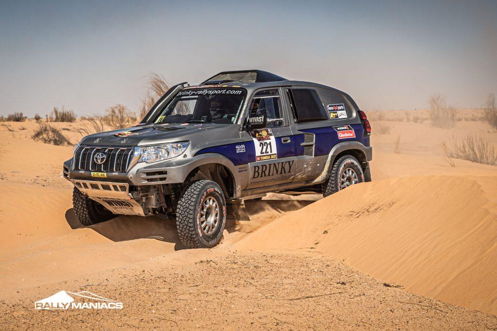 Van der Wouden wint tweede etappe Fenix Rally, Brinky neemt revanche