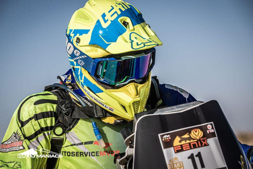 Van der Wouden op koers voor winst in Fenix Rally