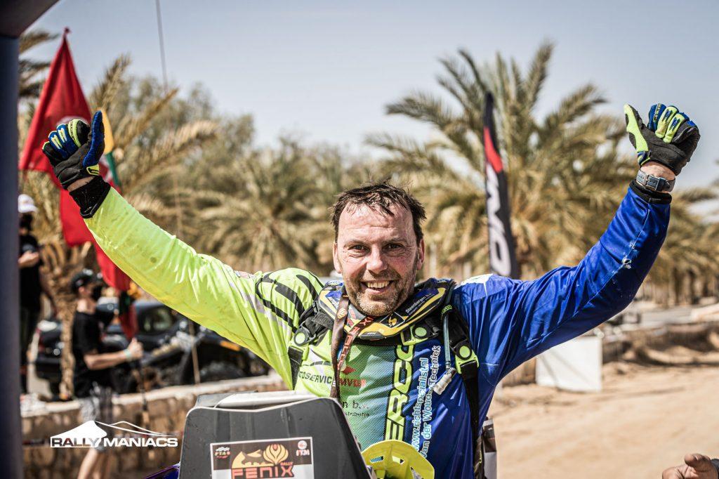 Van der Wouden wint Fenix Rally, Moens tweede in SSV-klasse