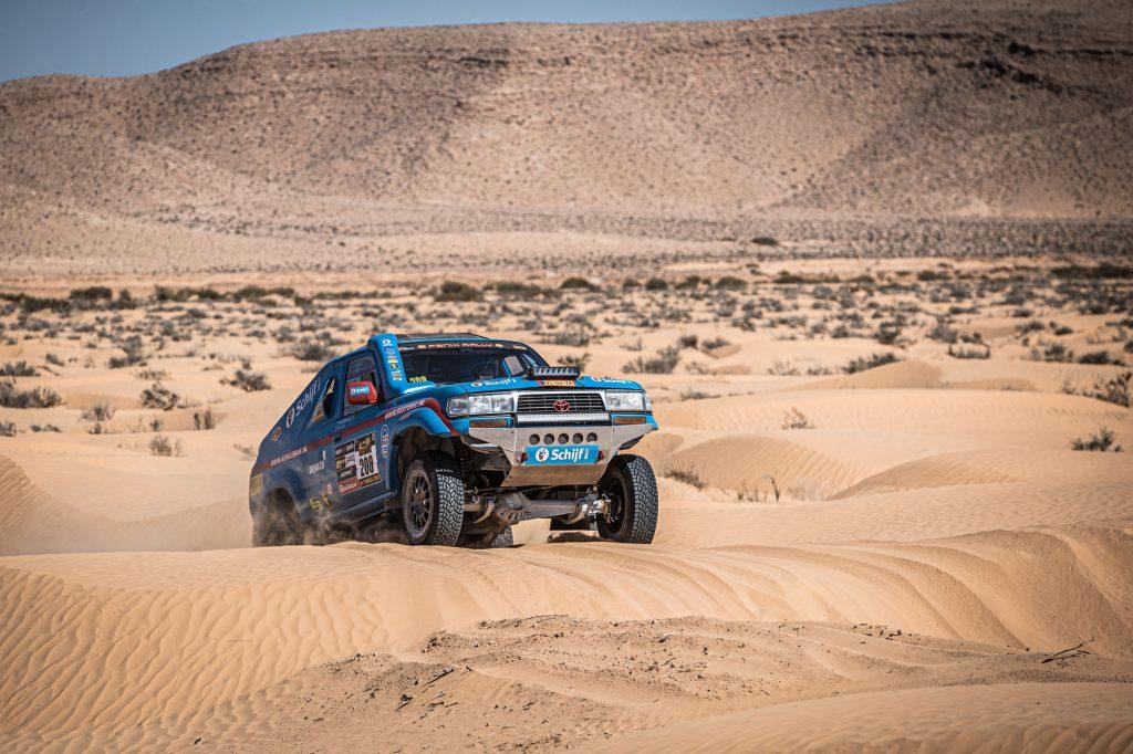 Stam consolideert top-vijf in 'razendsnelle' etappe Fenix Rally