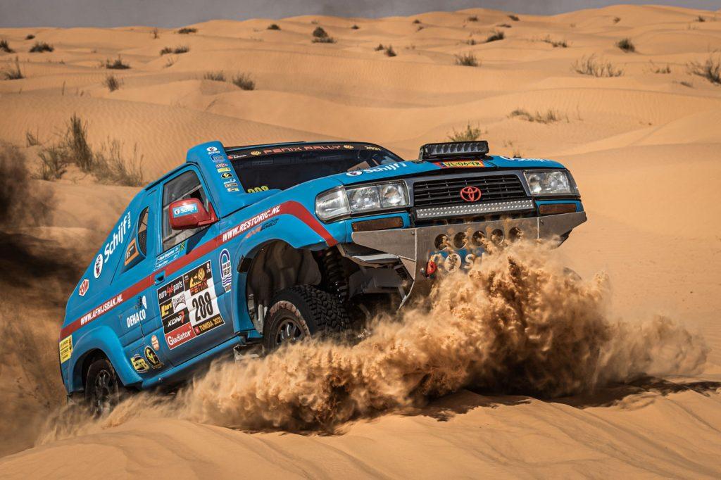 Eerste klap is een daalder waard voor Schijf Rally