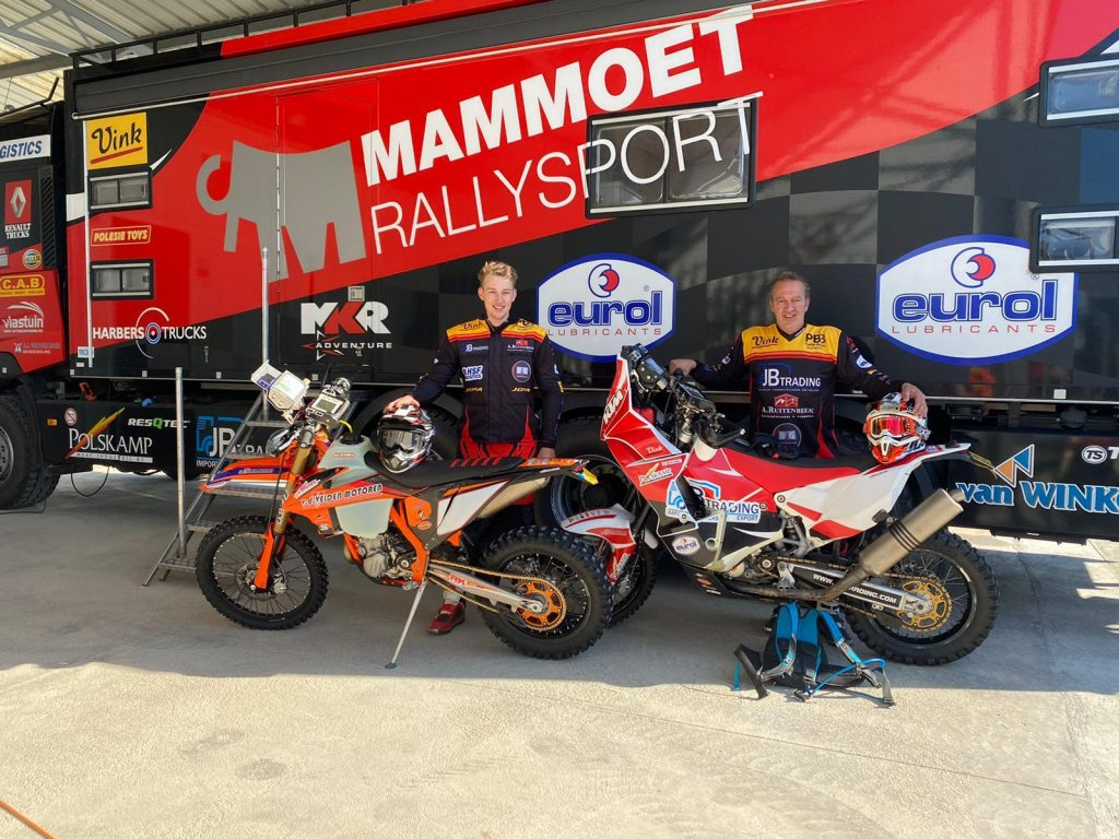 Mammoet Rallysport met twee motoren en SSV naar Andalusië