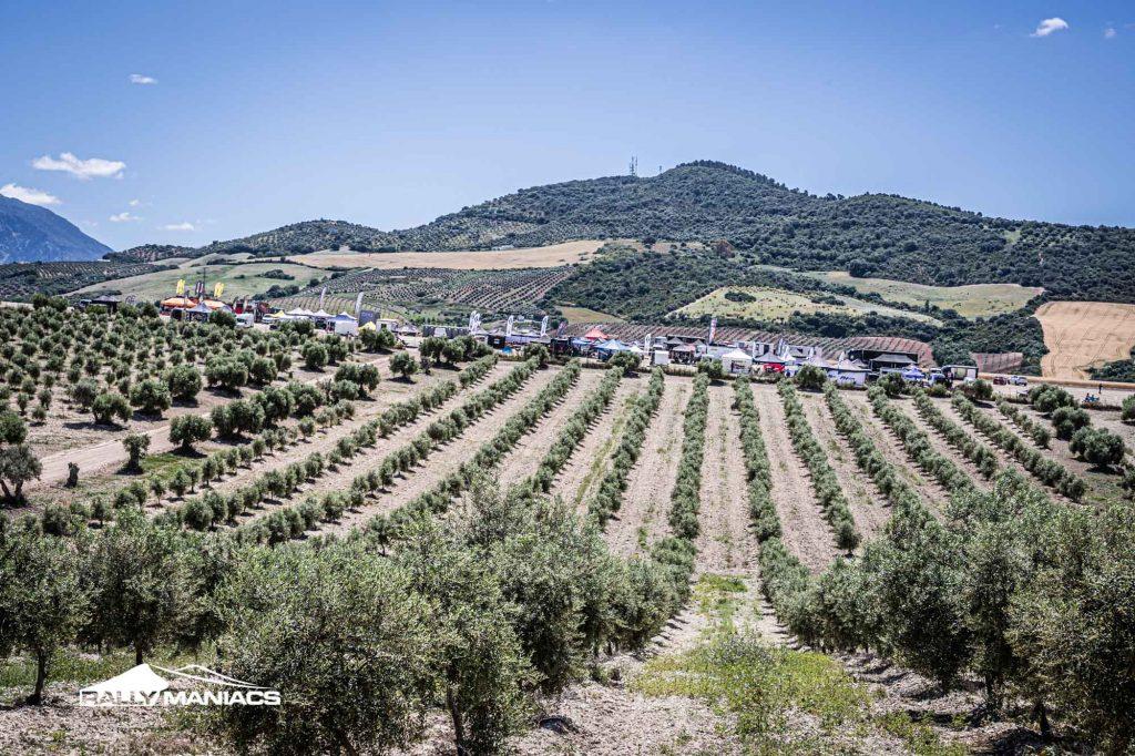 Groen licht voor de start van de Andalucia Rally