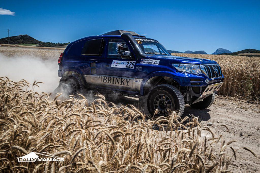 Brinky Rallysport klaar voor mooi avontuur in Andalucia Rally