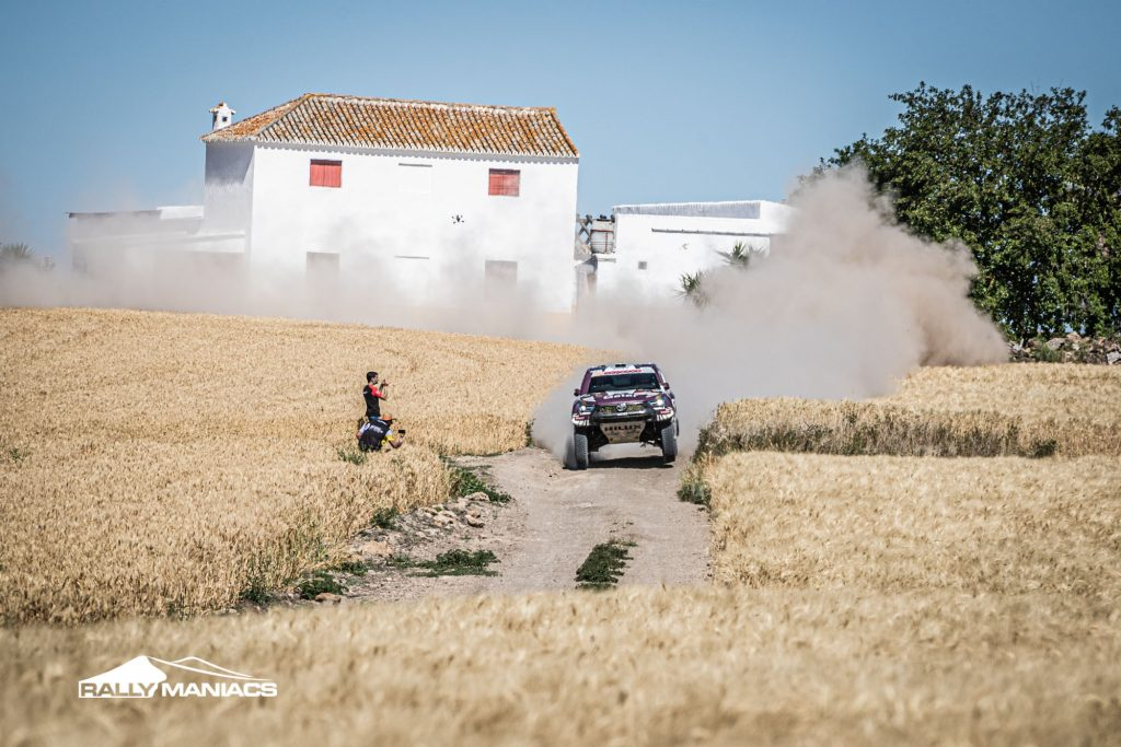 Al-Attiyah begint met winst bij auto's in Andalucia Rally