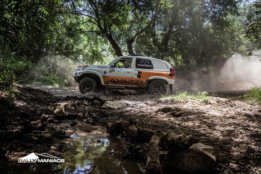 Schoolderman zestiende in tweede etappe Andalucia Rally