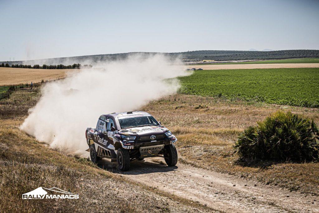 Van den Brink triomfeert in Open SSV-klasse Andalucia Rally, Al-Attiyah wint bij auto's