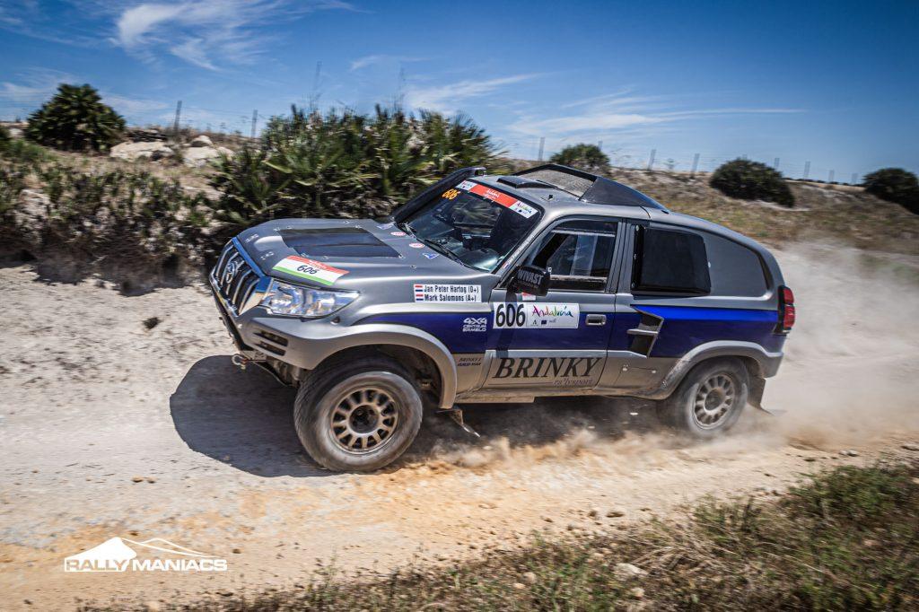 Hartog en Salomons op podium in derde etappe Andalucia Rally