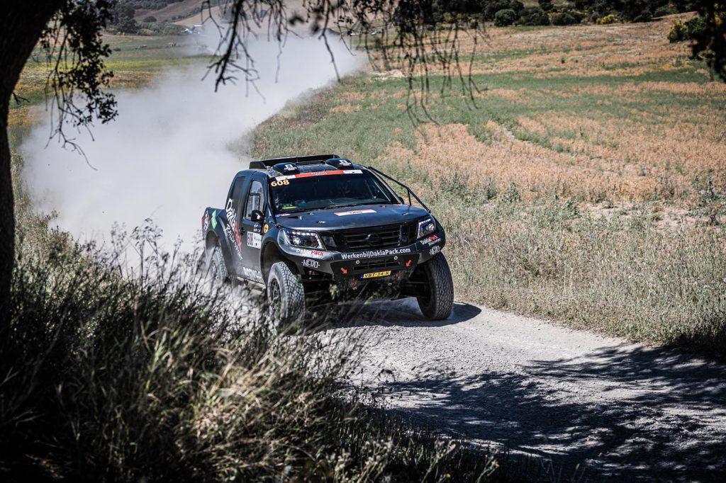"""Daklapack Rallysport tweede na """"fantastische week"""" in Andalusië"""