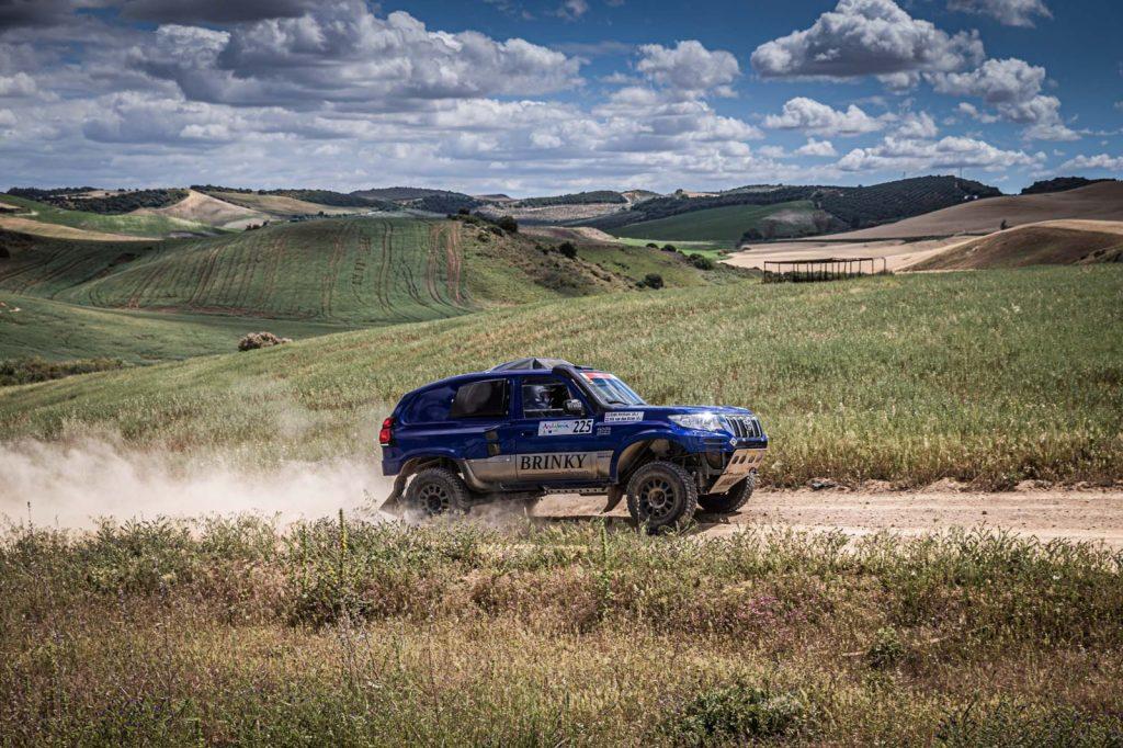Brinky Rallysport goed uit de startblokken in proloog Andalucia Rally