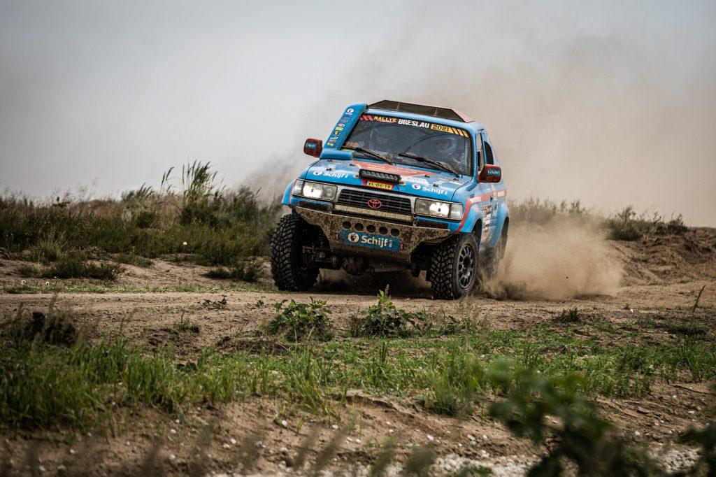 Schijf Rally tankt vertrouwen in finale van Breslau Rallye