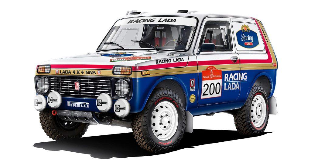 De Lada Niva keert na 35 jaar terug naar de Dakar Rally