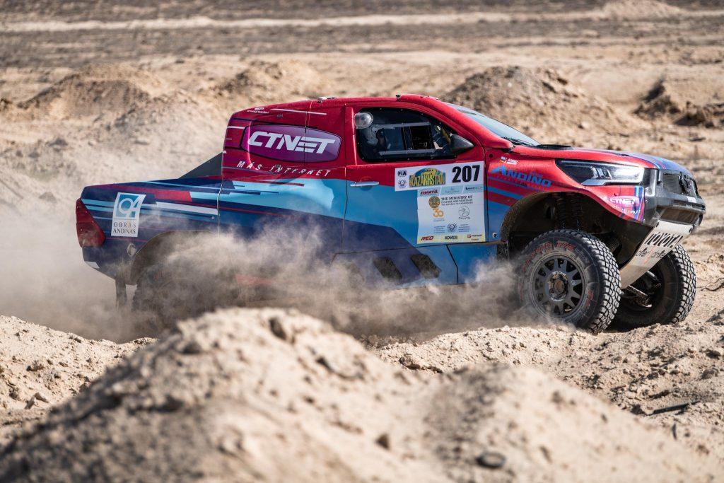 Lucio Alvarez en Ross Branch winnen Rally Kazachstan