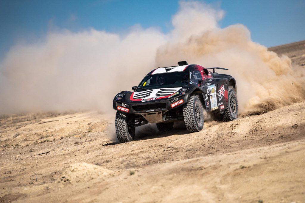 Mathieu Serradori en Ross Branch onderweg naar eerste zege in Rally Kazachstan