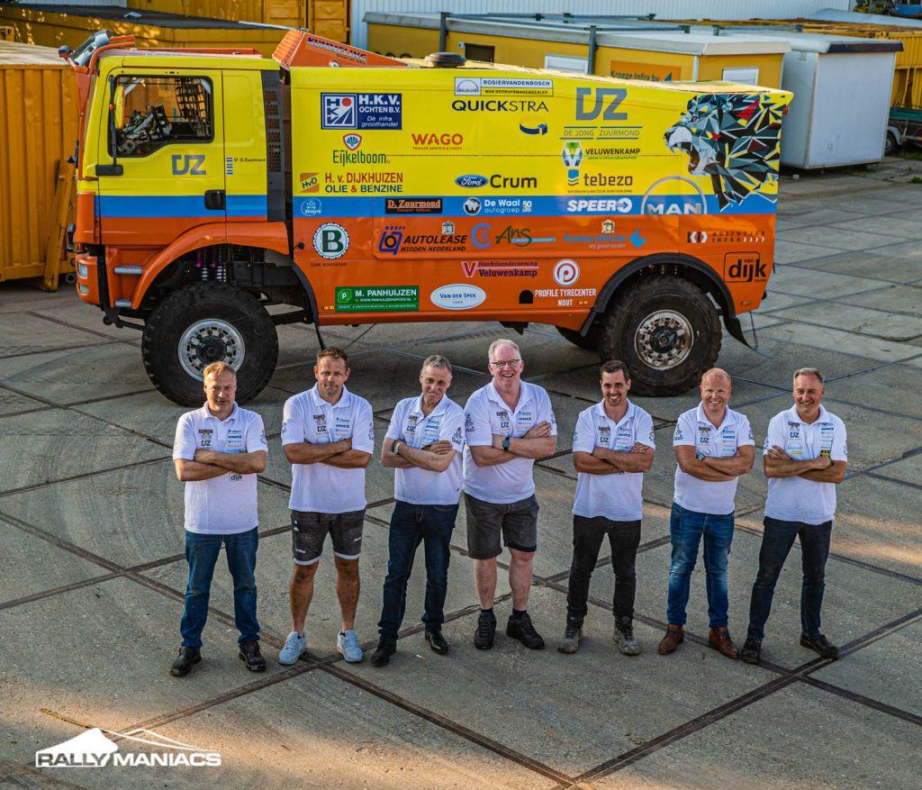 Rainbow Truck Team van de partij in Rallye Breslau