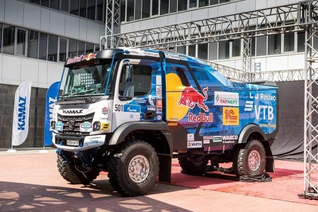 Kamaz presenteert nieuwe truck voor Silk Way Rally