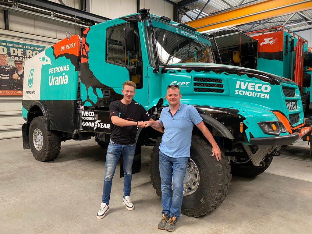 Mitchel van den Brink met Team De Rooy naar Dakar Rally 2022