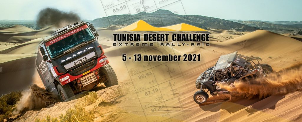 Presentatie Tunisia Desert Challenge 29 juli a.s.