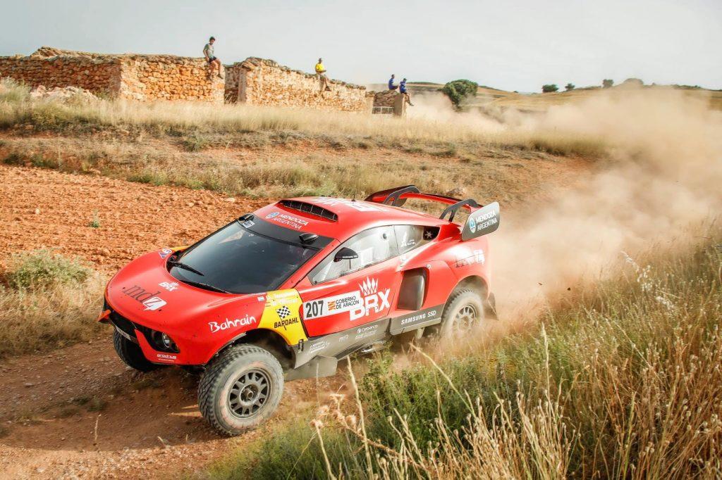 Baja Spanje dag 1: winst voor Loeb