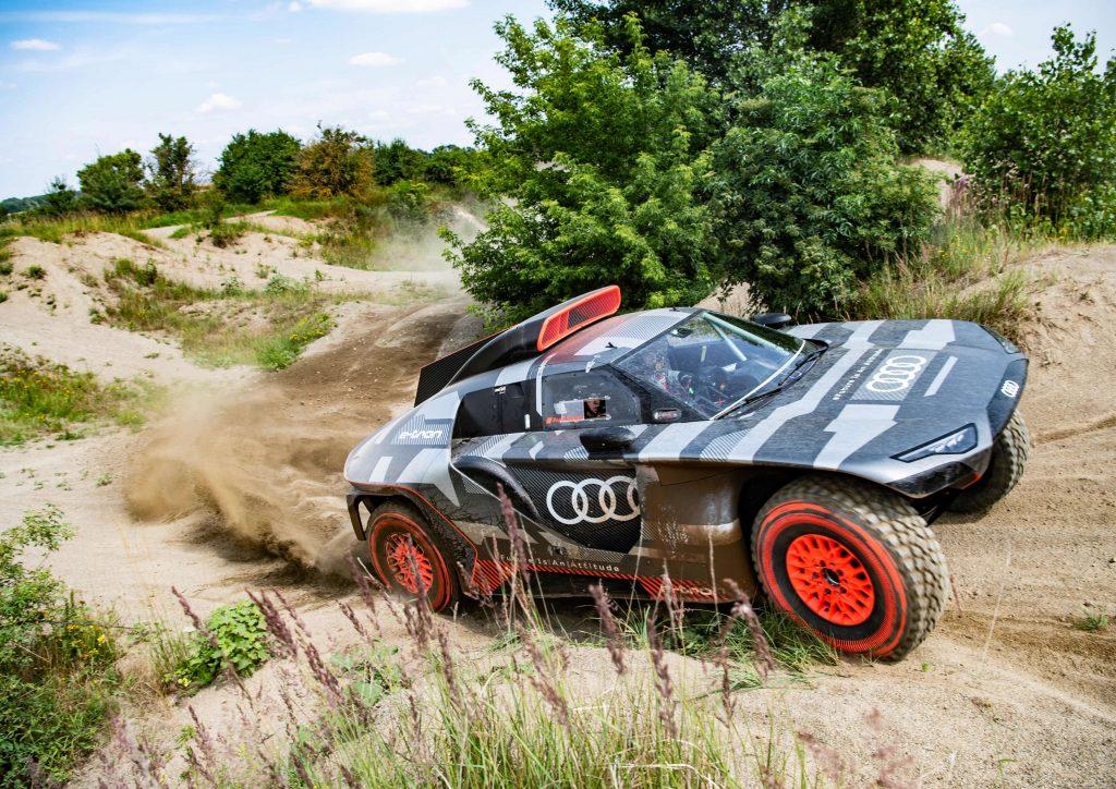 Audi onthult auto voor Dakar 2022: Audi RS Q e-tron
