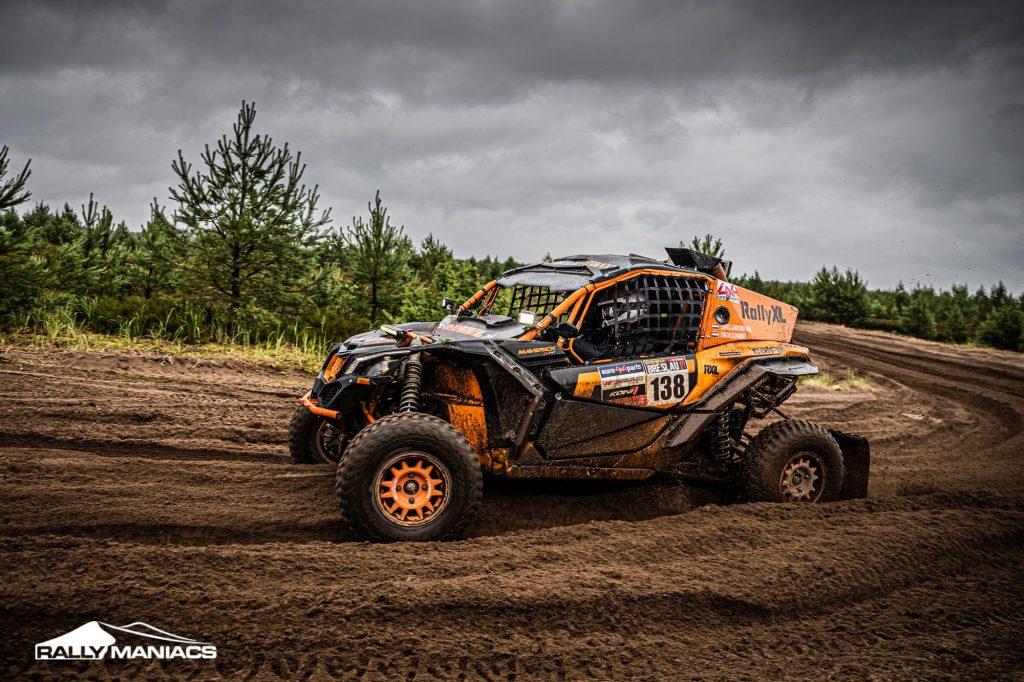 Goede prestaties voor RallyXL in Breslau Rally