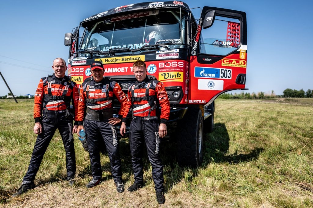 Martin van den Brink zevende algemeen in Silk Way Rally