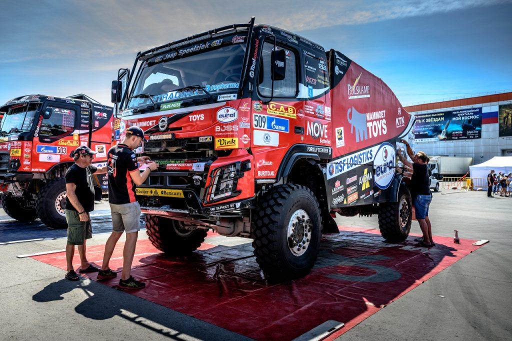 Mammoet Rallysport: 'We willen in de Silk Way Rally in de top rijden'