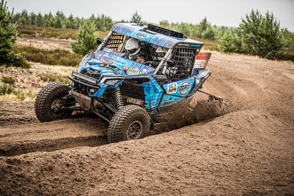 Dakarteam Spierings laat goede dingen zien op donderdag in de Breslau Rally
