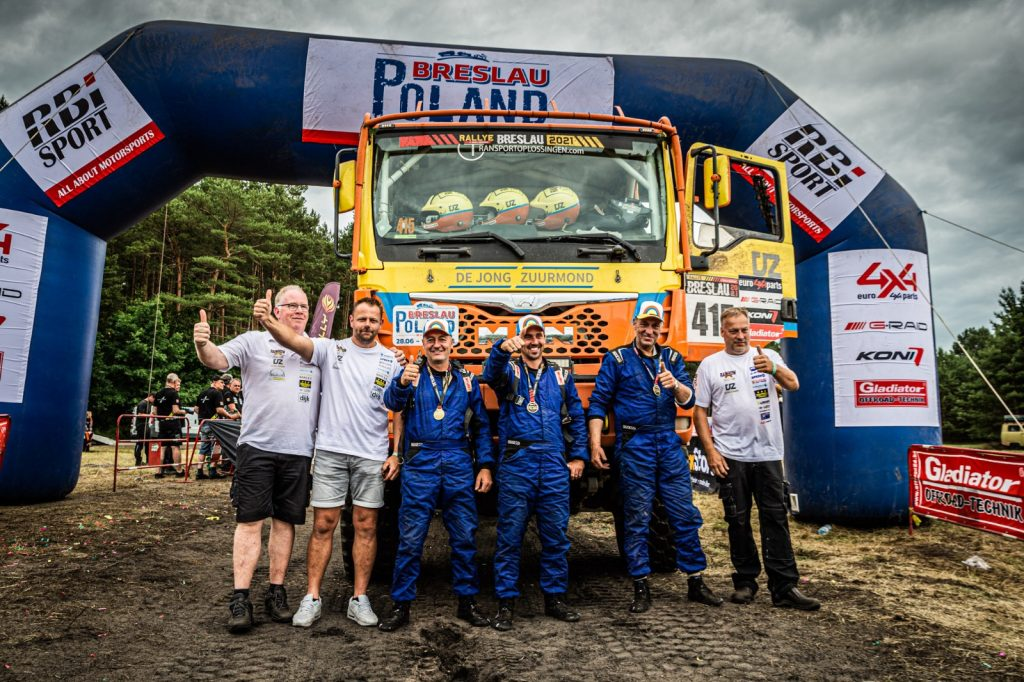 Rainbow sluit leerzame Breslau Rallye af op zesde plaats