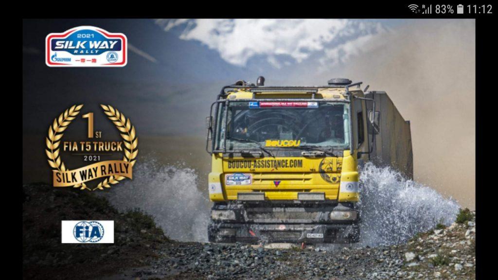 Pascal de Baar wint nieuwe FIA klasse in de Silk Way Rally