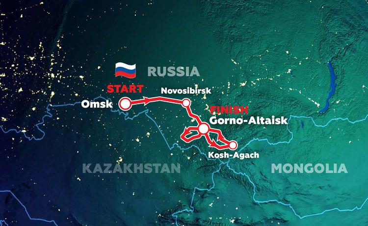 Silk Way Rally route gewijzigd