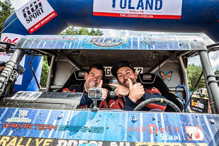 Dakarteam Spierings brengt Breslau Rally tot positief einde