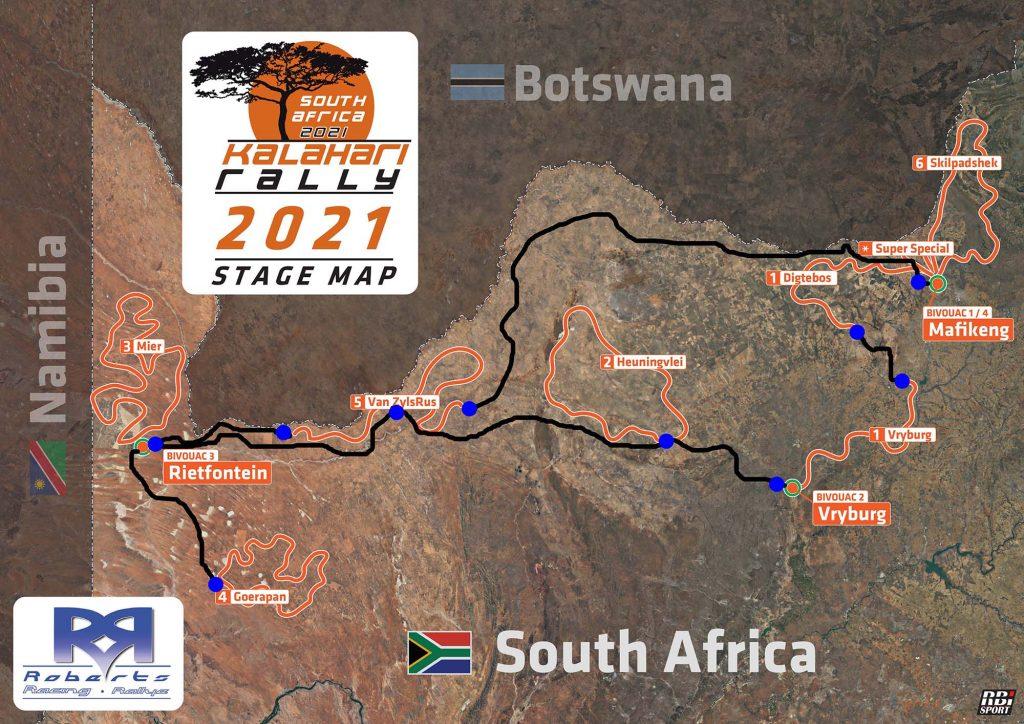 Kalahari Rally 2021 komend weekend van start