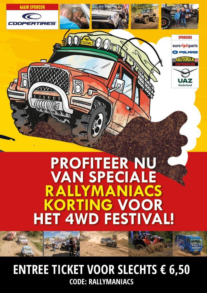 Bezoek het 4WD Festival op 25 & 26 september a.s.