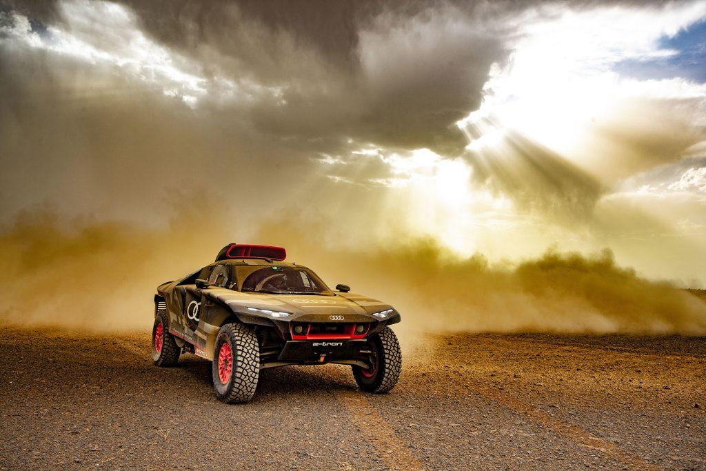 Audi test in Marokko op weg naar Dakar 2022
