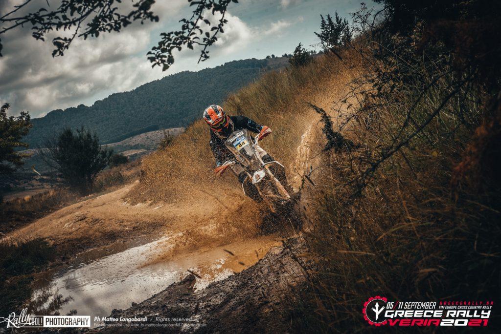 Svitko weet voorsprong ook in korte proef Greece Rally uit te bouwen