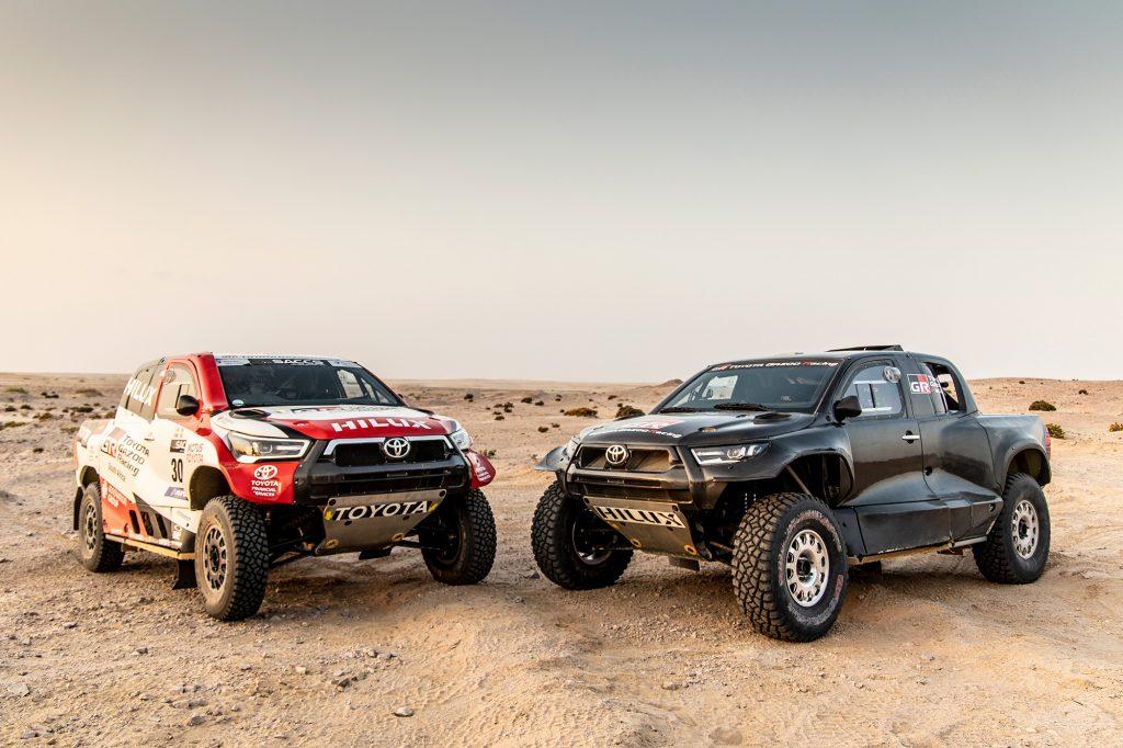 Toyota Gazoo Racing introduceert nieuwe Hilux en line-up voor Dakar