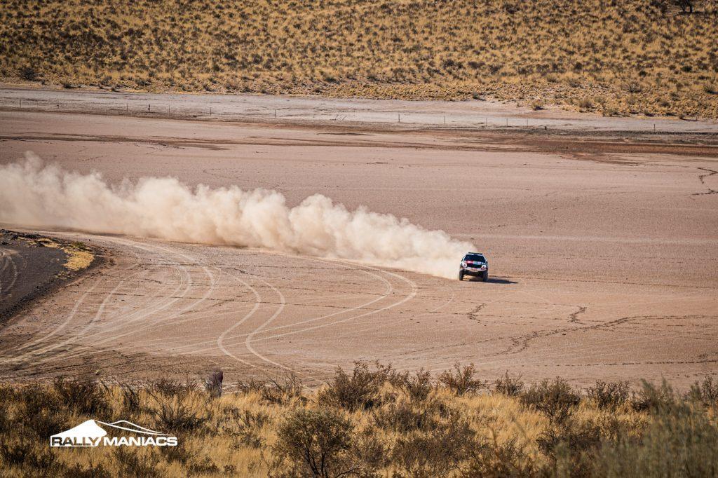 Kalahari Rally 2021: De Klerk pakt dagwinst en houdt het voor gezien