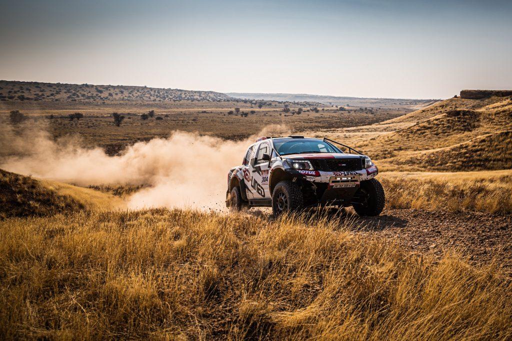 """Voorlaatste etappe Kalahari Rally """"een echte Dakar-dag"""""""
